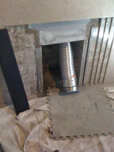 how to tell if chimney flue is open